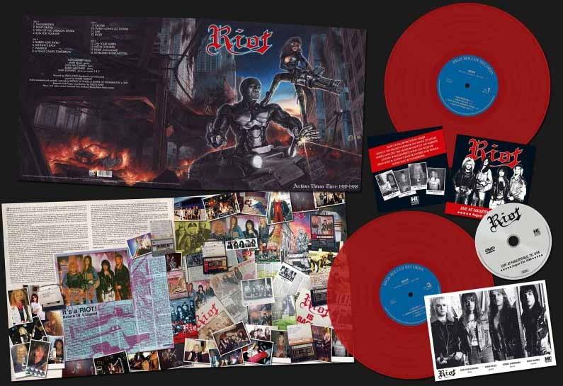 Riot - Archives Volume 3: 1987-1988