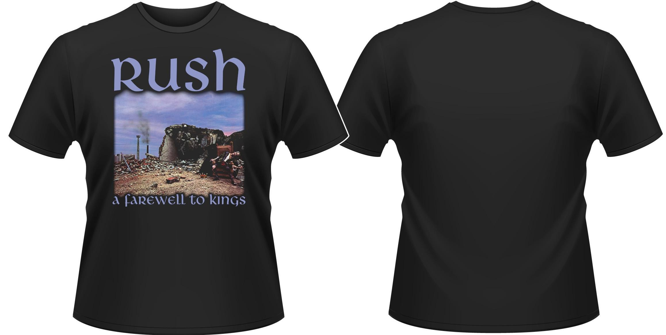 Rush - A Farwell To Kings - XXL