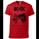 Ac / Dc - For Those About To Rock (Red)