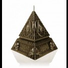Behemoth - Unholy Trinity Pyramid - Brass (Candle)