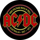 Ac / Dc - High Voltage Rock N Roll (Round)