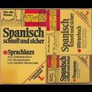 Langenscheidt (Hrsg.) - Spanisch Schnell Und Sicher. Sprachkurs Zum Selbststudium Mit Übungstexten Und Reichem Wortschatz. Mit Mc Und Wörterbuch