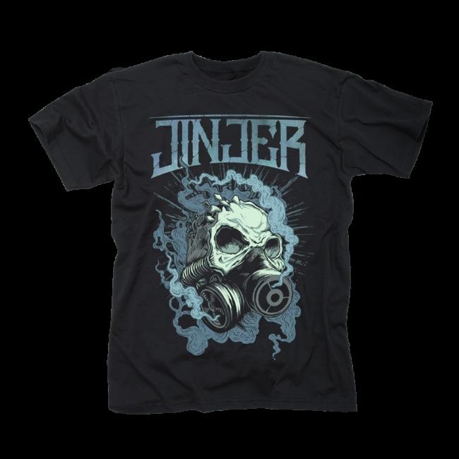 Gasmask T-Shirt \m//-\m// JINJER